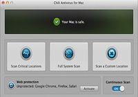 Chili Antivirus Mac pour mac