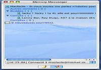 Mercury Messenger pour mac