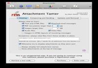 Attachment Tamer pour mac