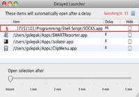 DelayedLauncher pour mac