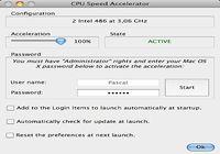 CPU Speed Accelerator pour mac