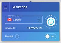 Windscribe VPN Mac pour mac