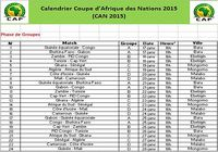Calendrier CAN 2015 pour mac