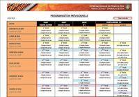 Programme Roland-Garros 2014 pour mac