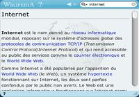 Wikipedia Widget pour mac