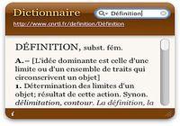 Dictionnaire pour mac
