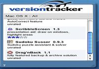 VersionTracker pour mac