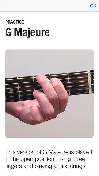 Les Accords de Guitare pour mac