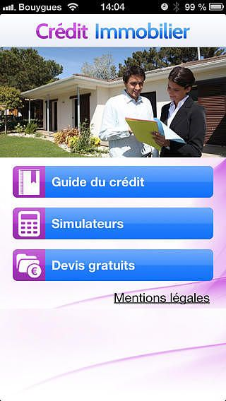 T l charger cr dit immobilier for Credit immobilier pour garage