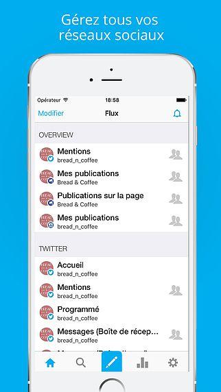 Hootsuite pour Twitter, Instagram et les Médias Sociaux pour mac