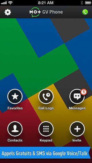 TELEPHONE pour Google Voice  pour mac