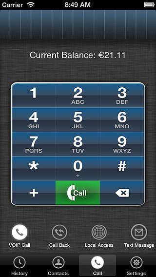 MobileVOIP - Appels à bas cout pour mac
