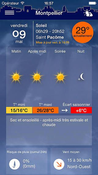 T l charger m t o montpellier - Meteo agricole montpellier ...