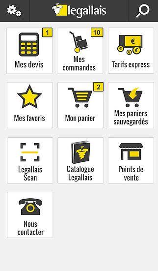 Legallais Mobile pour mac