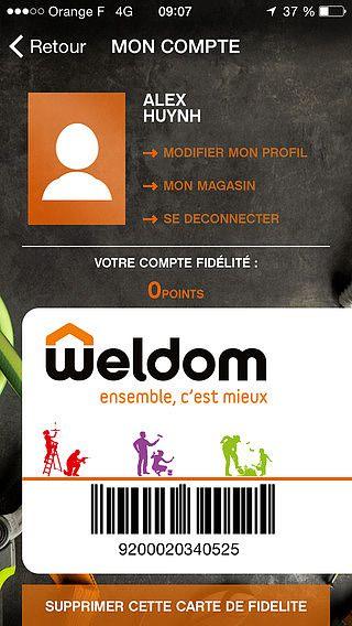 Weldom pour mac