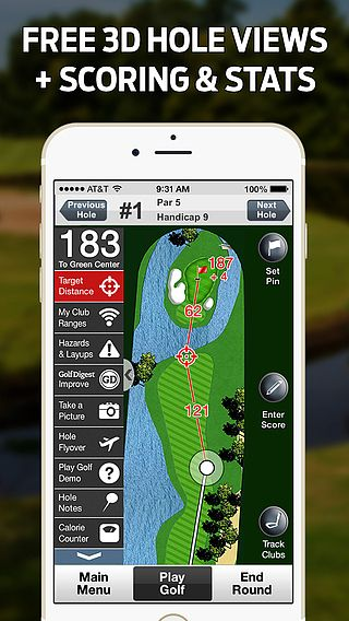 t l charger golflogix golf gps gratuit scores. Black Bedroom Furniture Sets. Home Design Ideas
