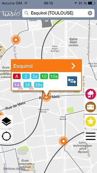 Tisséo : transport métro, tram, bus de Toulouse et son aggloméra pour mac