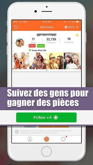 GainFollow - Obtenez plus vrais d'abonnés sur Instagram pour mac
