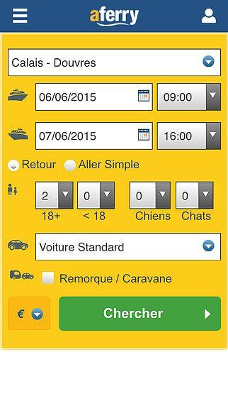 AFerry - Retrouvez tous les ferries, comparez les prix et réserv pour mac