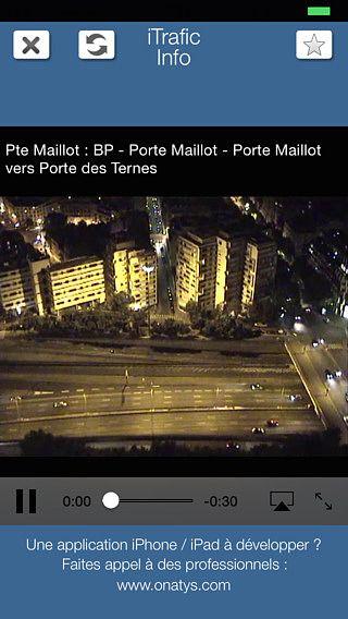 ITrafic Info : info trafic avec Webcams pour mac
