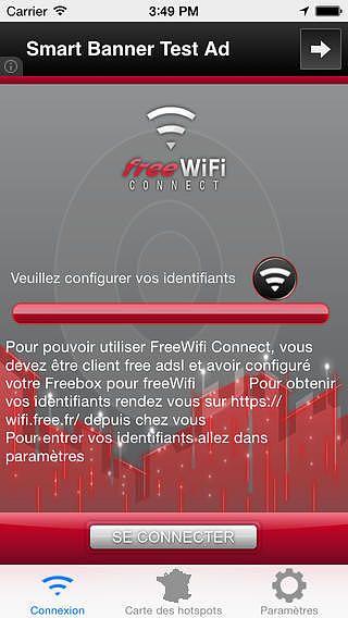 FreeWifi Connect pour mac