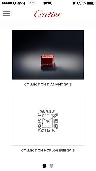 Cartier - Catalogue pour mac