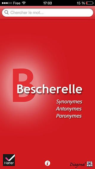 Bescherelle, Le dictionnaire des synonymes pour mac