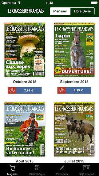 Le Chasseur Français Magazine pour mac