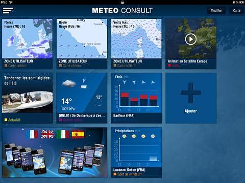 Météo Marine pour iPad pour mac