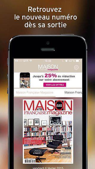 Maison Française Magazine - Magazine : Décoration, design, archi pour mac