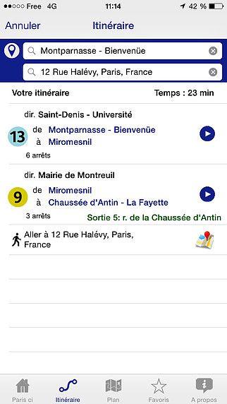 Paris ci la sortie du Métro pour mac