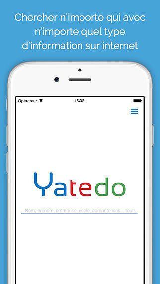 Yatedo Recherche de Personnes pour mac
