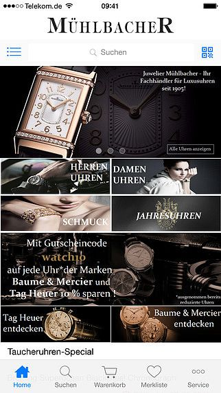 Juwelier Mühlbacher - Luxusuhren, Schmuck und Schreibgeräte pour mac