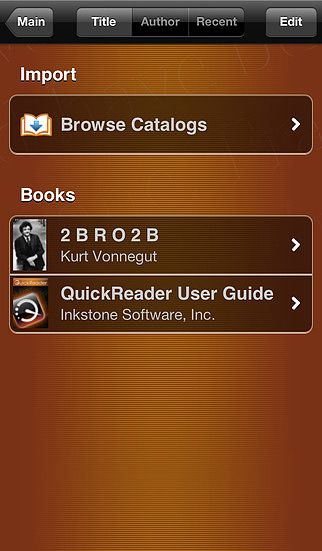 QuickReader Lite - eBook Reader with Speed Reading pour mac