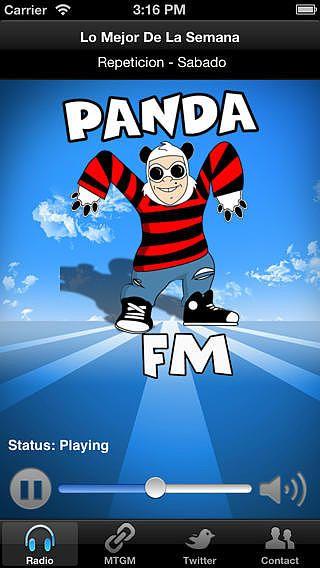Panda FM pour mac
