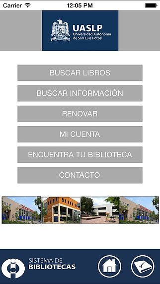 UASLP Bibliotecas pour mac