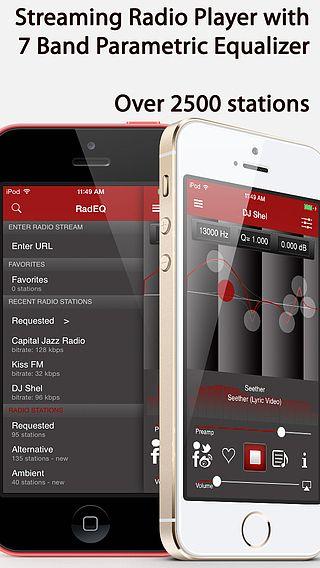 RadEQ - Equalizer for Streaming online Radio pour mac
