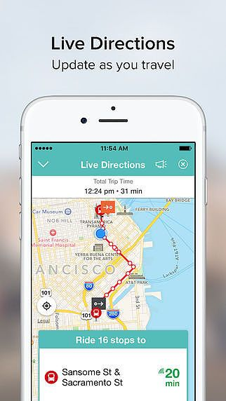 Transit Directions by Moovit pour mac