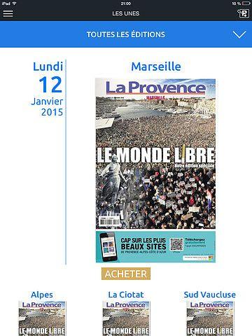 La Provence Kiosque pour mac