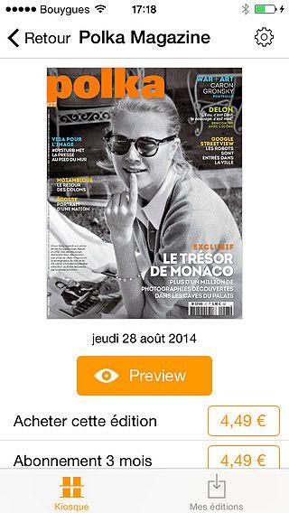 Polka Magazine pour mac