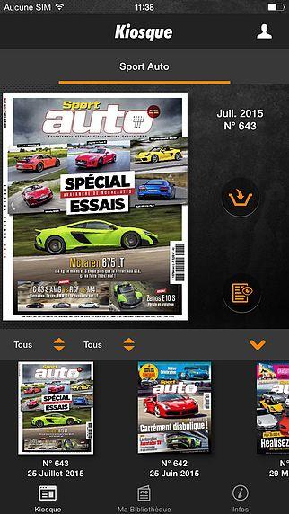 Sport Auto Magazine pour mac