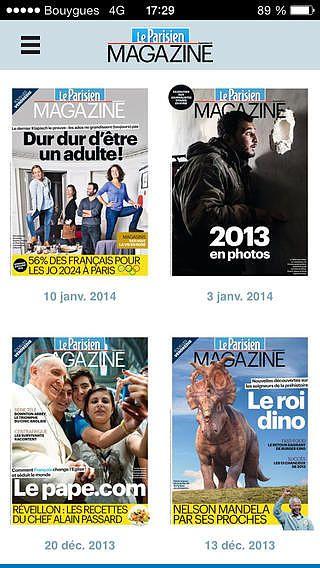 Le Parisien Magazine pour mac