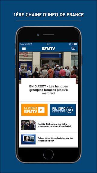 BFMTV : l'info en continu pour mac