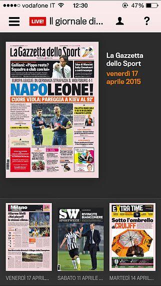 Gazzetta Gold - La Gazzetta dello Sport pour mac