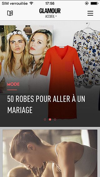 Glamour France pour mac