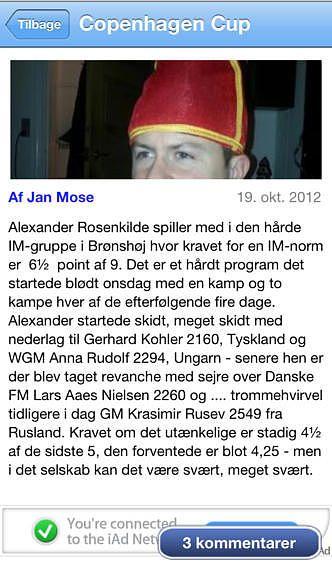 Taastrup Skakforening Nyheder pour mac