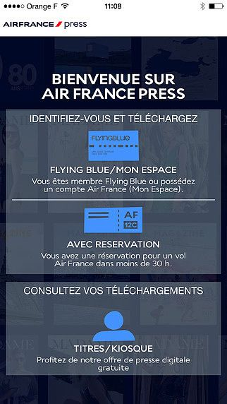 Air France Press pour mac