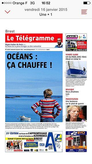 Journal Le Télégramme pour mac