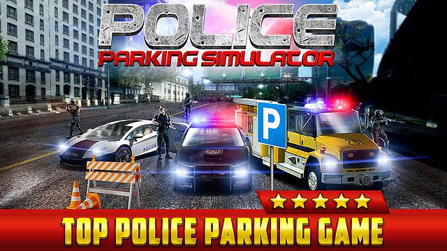 t l charger police car parking simulator game gratuit jeux de voiture de c. Black Bedroom Furniture Sets. Home Design Ideas