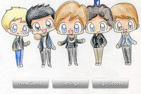Funny Game for One Direction pour mac